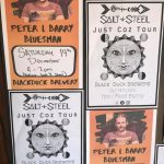 Salt And Steel – Saturday 14th December